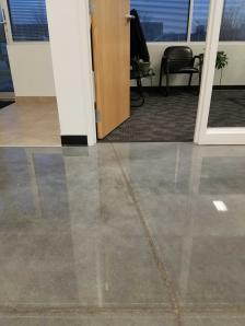 Concrete floor polishing for Madison WI business